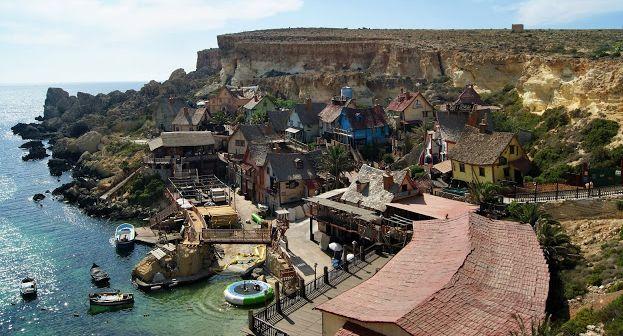 Małki w podróży: Malta. W wiosce Popeye'a