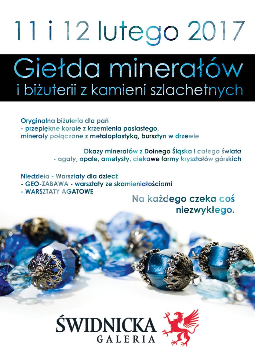 minerały 2017 plakat