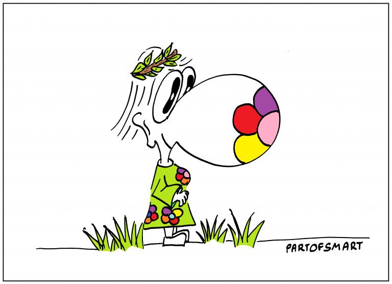 Ołówek Pawła: Wiosna przyszła