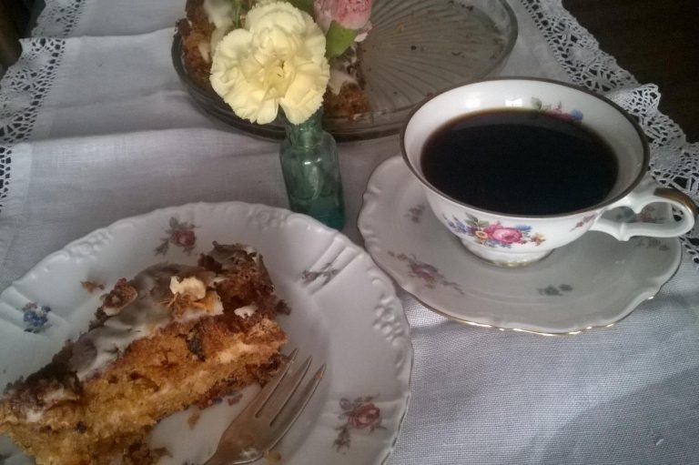 Czary Penelopy: Ciasto marchewkowe