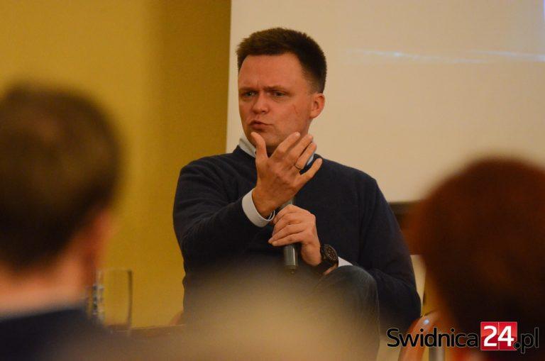 Szymon Hołownia odwiedzi Świdnicę