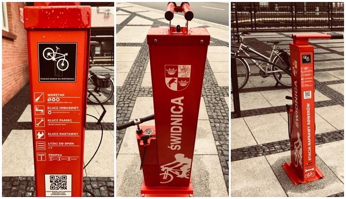 Nie będzie kolejnych samoobsługowych stacji naprawy rowerów. Miasto obawia się wandali