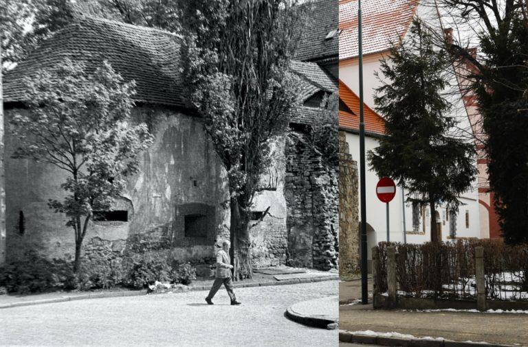 Świdnica wczoraj i dziś. Ul. Basztowa
