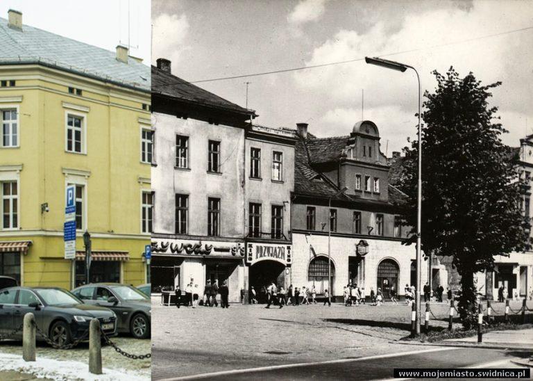 Świdnica wczoraj i dziś. Plac Grunwaldzki