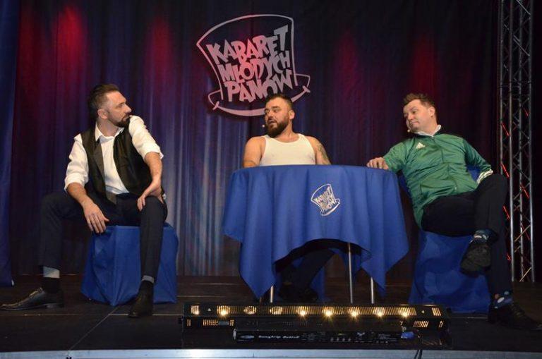 Występ Kabaretu Młodych Panów przeniesiony na późniejszy termin![ROZWIĄZANIE KONKURSU]