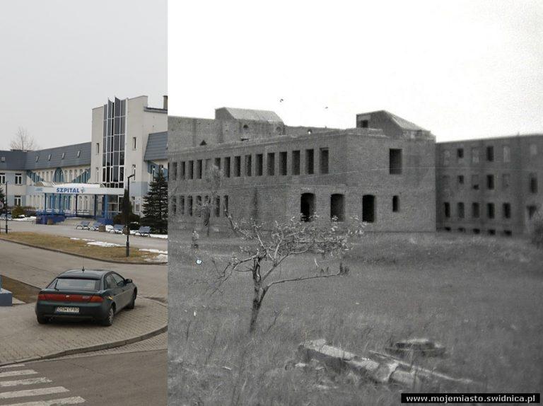"""Świdnica wczoraj i dziś. Szpital """"Latawiec"""""""