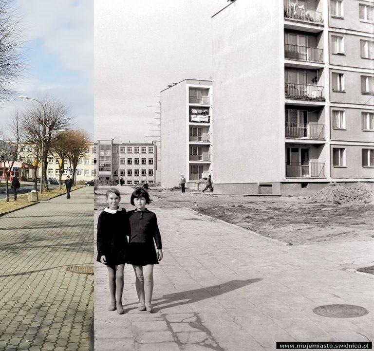 Świdnica wczoraj i dziś. Ul. Marii Kunic