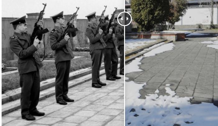 Świdnica wczoraj i dziś. Cmentarz wojenny żołnierzy Armii Czerwonej