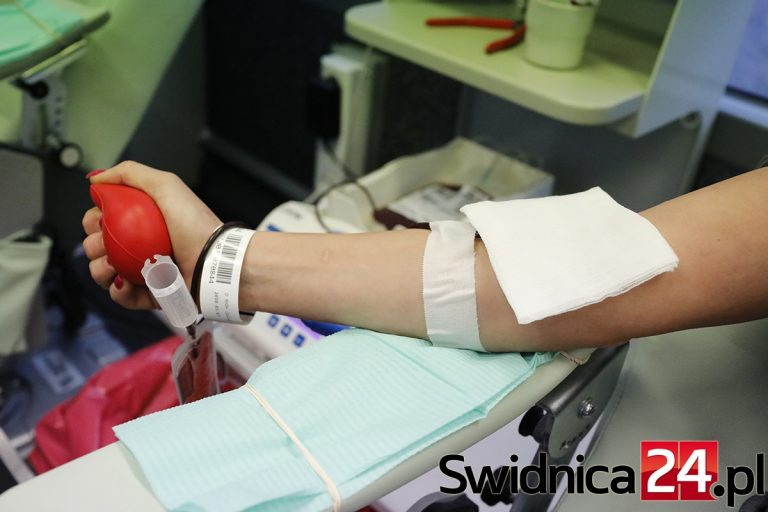 Zbiórka krwi w ZSHT