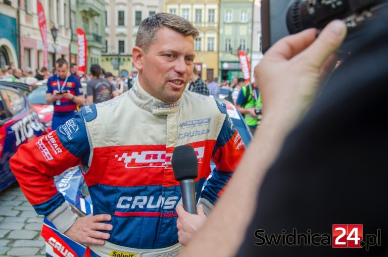 Grzegorz Grzyb znów zwycięzcą Rajdu Świdnickiego Krause!