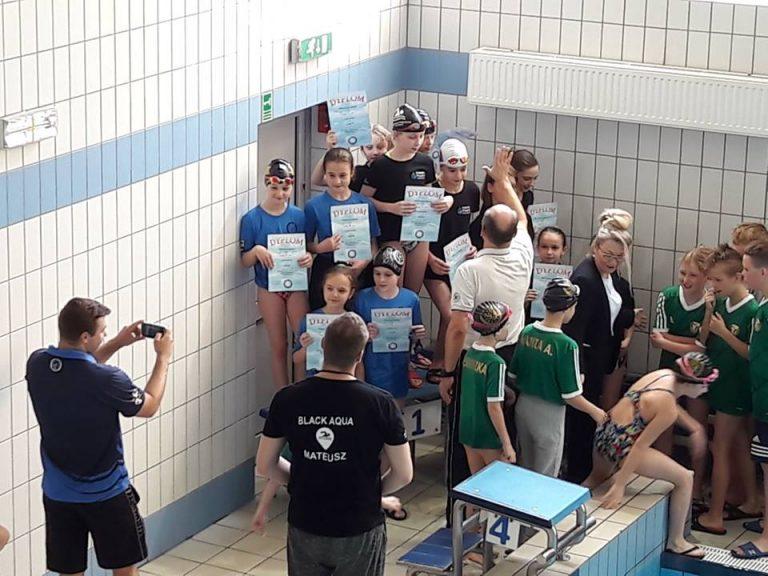 Pływacy Neptuna na podium Dolnośląskiej Ligi Pływackiej