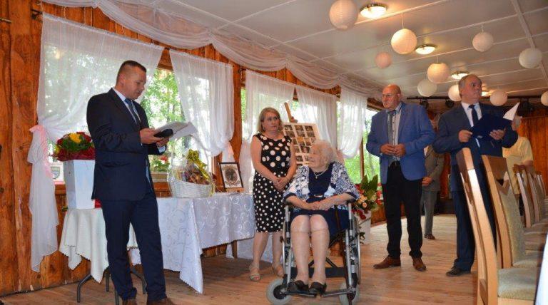 Mieszkanka powiatu świętowała setne urodziny