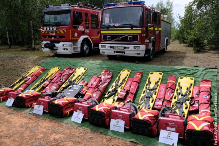 Strażacy z Dobromierza z nowym sprzętem