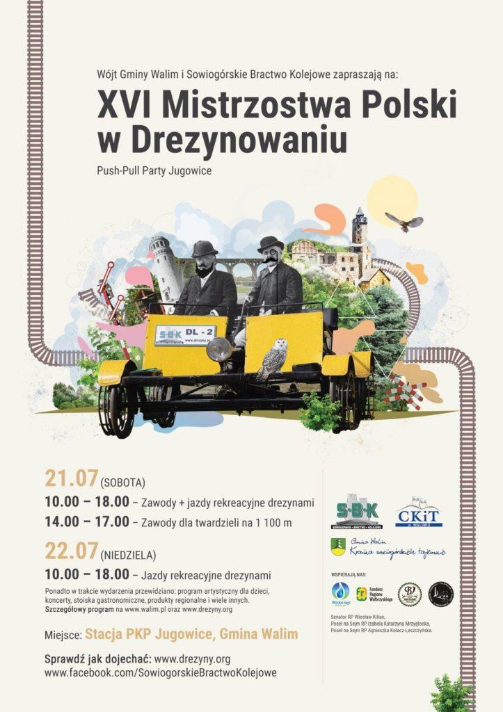 Mistrzostwa Polski w Drezynowaniu @ Jugowice | Jugowice | Województwo dolnośląskie | Polska