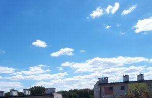 Niebo nad Świdnicą. Fot. Agata Ciuba