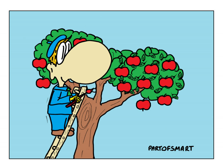 Ołówek Pawła: Lato z owocami
