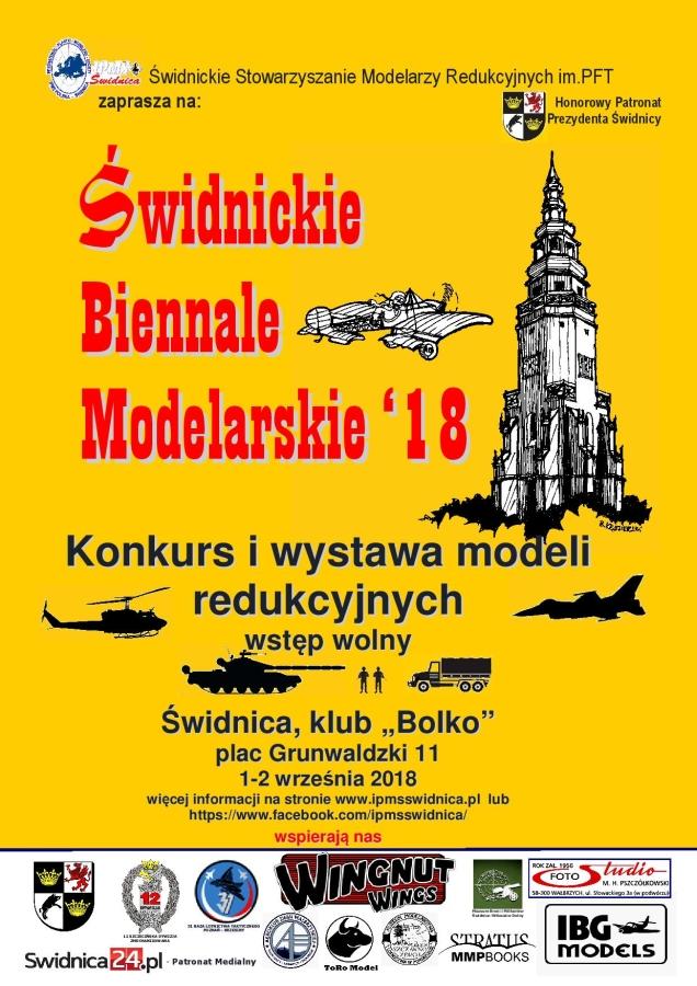 Świdnickie Biennale Modelarskie 1-2 września 2018