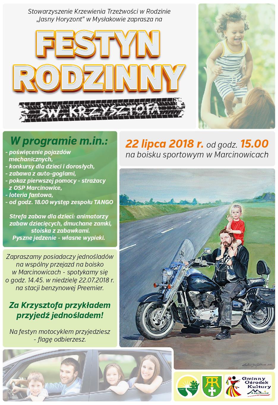Festyn rodzinny św. Krzysztofa @ Marcinowice | Marcinowice | Województwo dolnośląskie | Polska