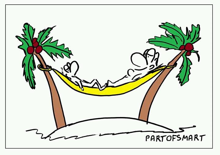 Ołówek Pawła: Lato pod palmami