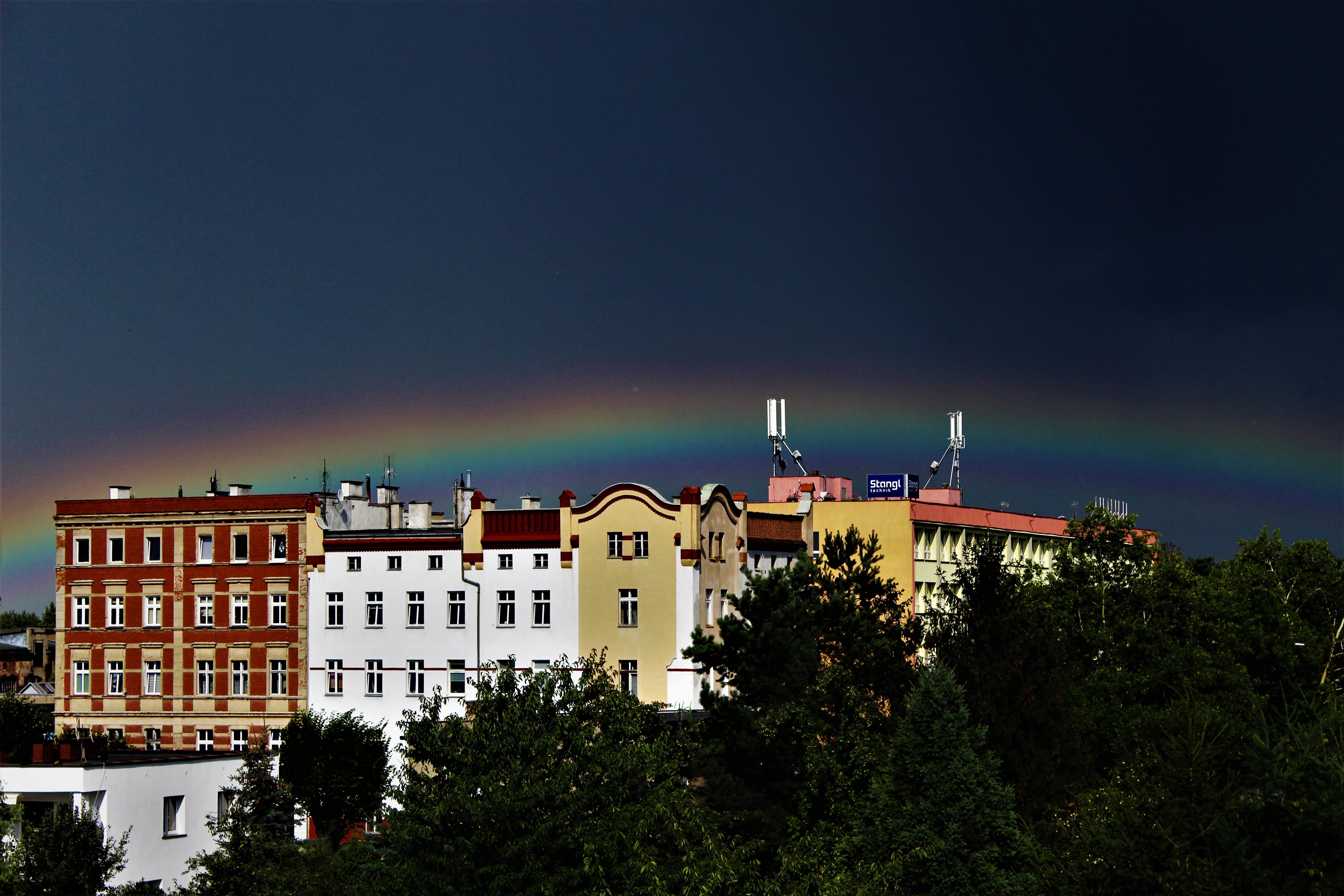 Tęcza nad Świdnicą, fot. Magdalena Łapawa