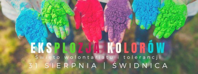 Eksplozja Kolorów w Świdnicy 31 sierpnia 2018