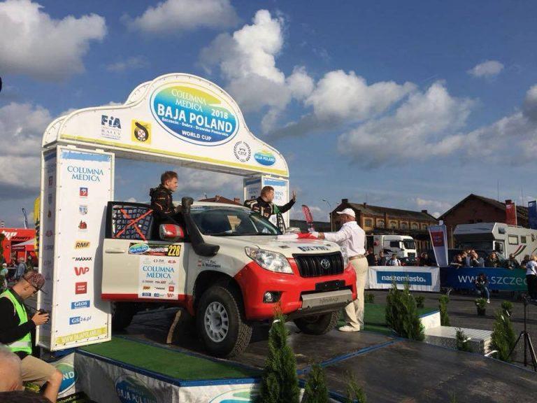 Świdnicko – krakowski duet w walce o punkty terenowych samochodowych Mistrzostw Europy
