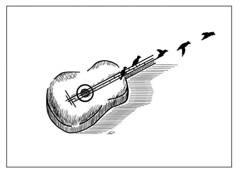 Ołówek Pawła: Na skrzydłach jesieni