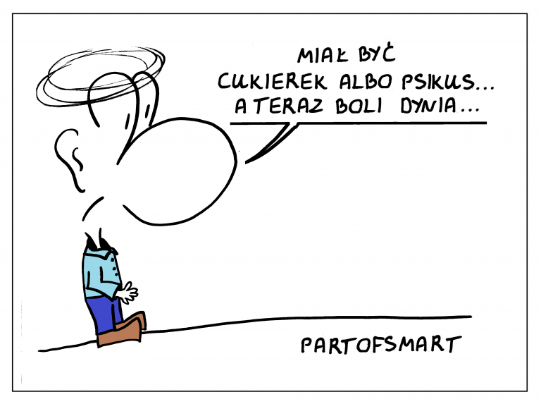 """Ołówek Pawła: """"Cukierek albo psikus"""""""
