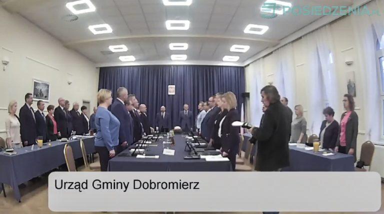 Samorządowcy z Dobromierza zaczęli nową kadencję