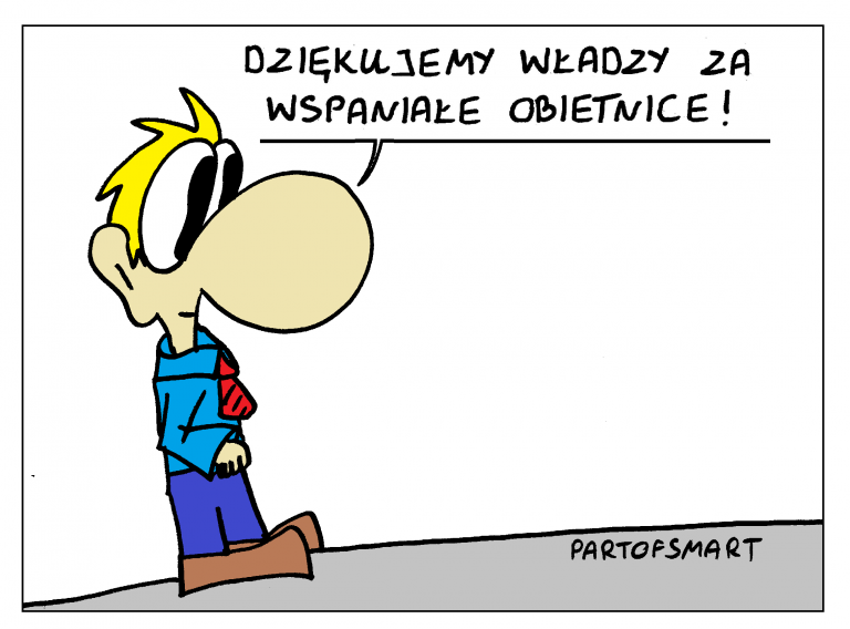 """Ołówek Pawła: Wyborcze """"obiecanki cacanki"""""""