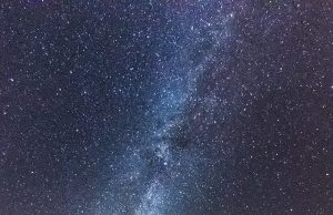 Droga Mleczna widziana z okolic Świdnicy, fot. Łukasz Rokicki