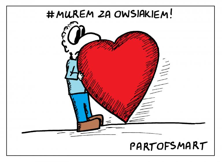 Ołówek Pawła: #MuremZaOwsiakiem