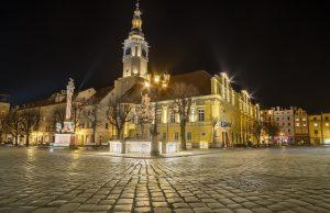 Świdnica nocą, fot. Marek Durski