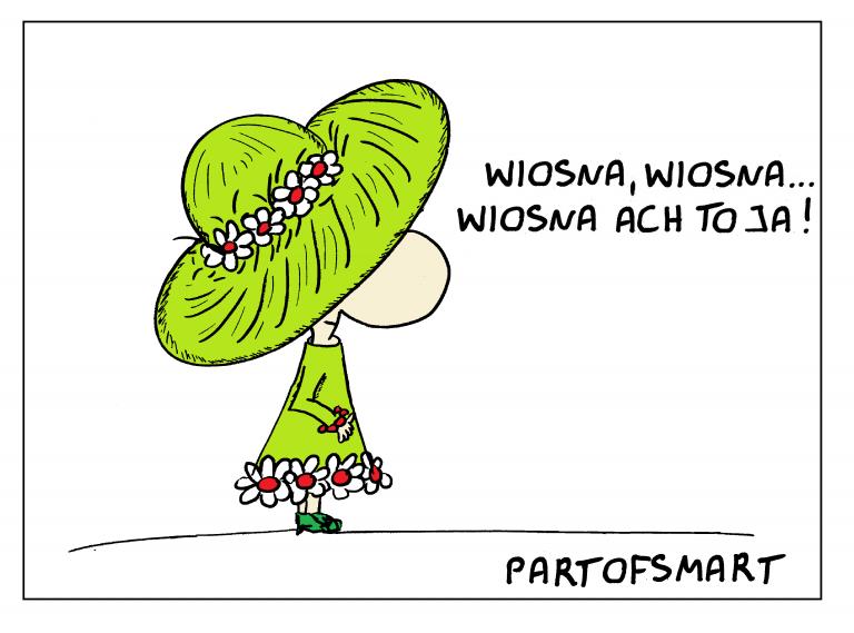 Ołówek Pawła: Nadchodzi Wiosna!