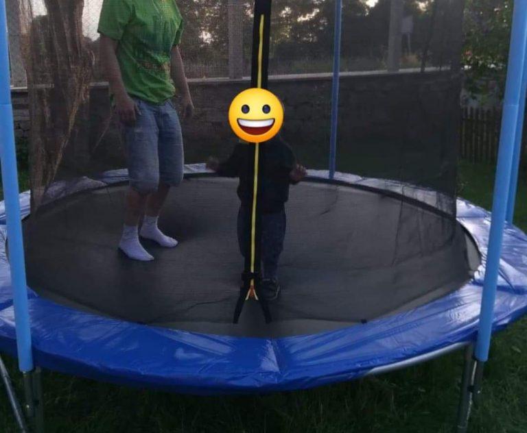 Ukradli trampolinę 3-latkowi. Apel o odszukanie złodziei