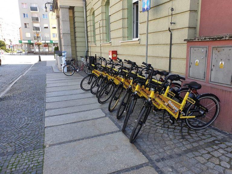 Strzegomskie rowery miejskie ponownie dostępne