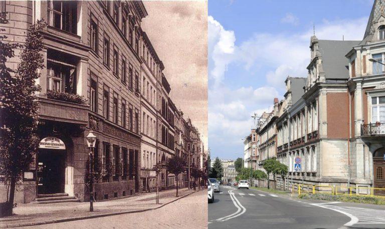 Świdnica wczoraj i dziś. Ulica Bolesława Chrobrego