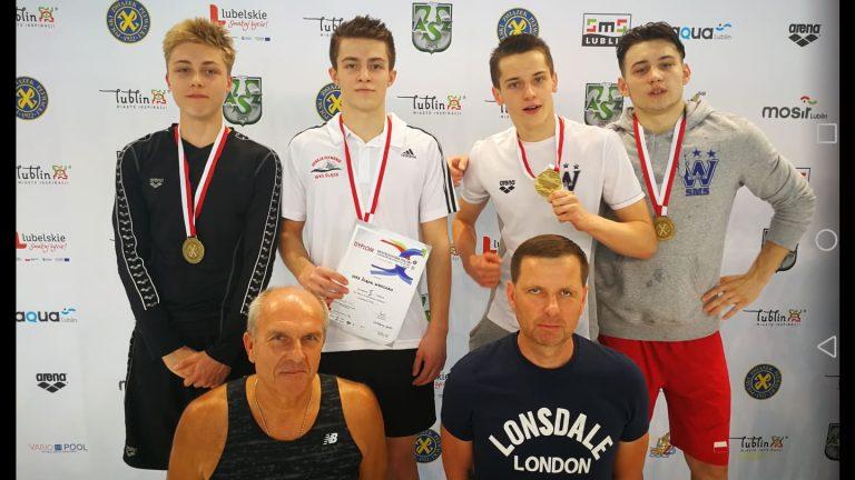 Oskar Cebula pływackim mistrzem Polski!
