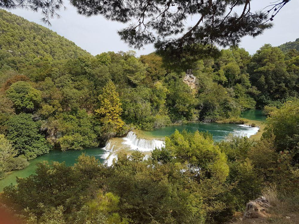 Chorwacja, wodospady Krka, fot. Marta Marchewka