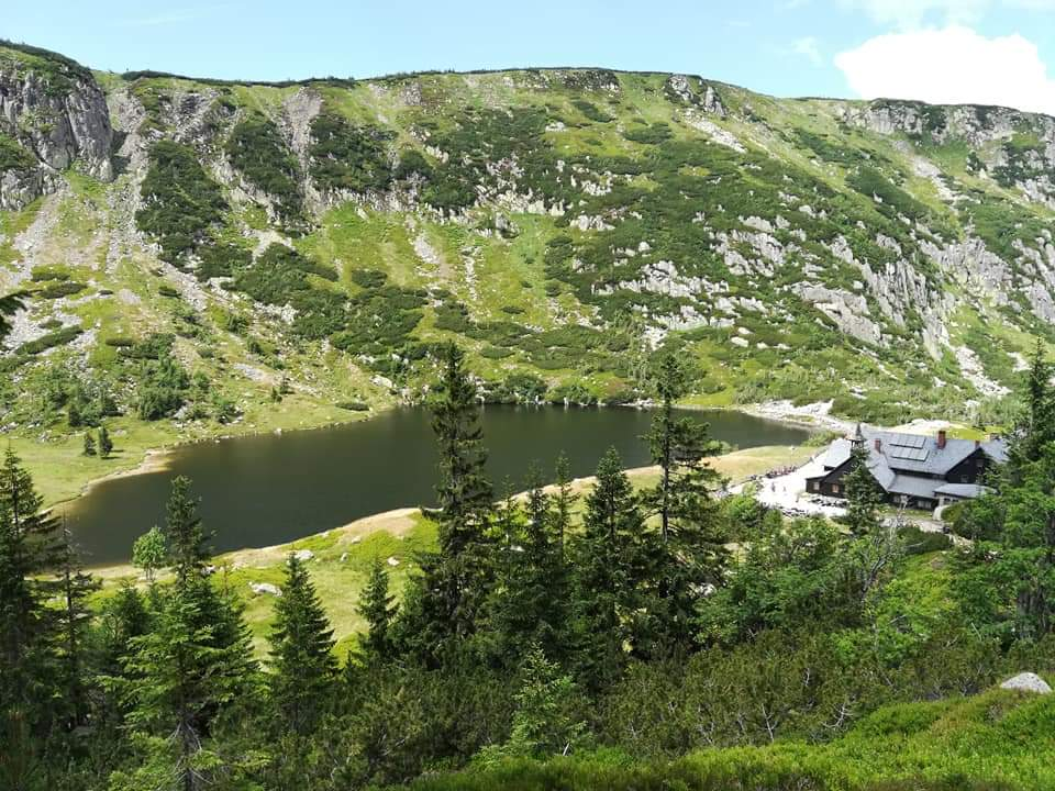 Karkonoski Park Narodowy, schronisko Samotnia, Śnieżka, fot. Lucyna Rybacka