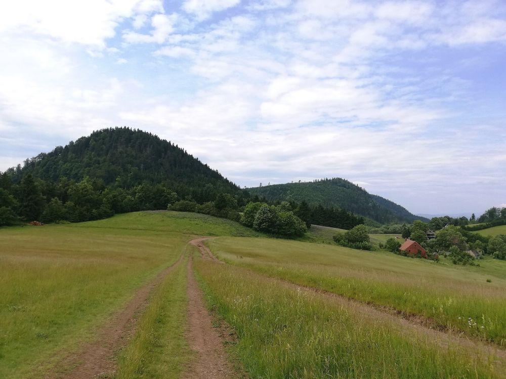 Przełęcz Trzech Dolin, Góry Suche, fot. Leszek Krawiec