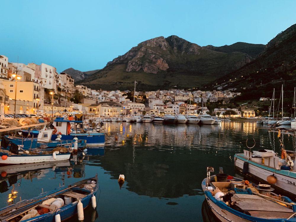 Sycylia, Castellammare del Golfo, fot. Elżbieta Wieczorek