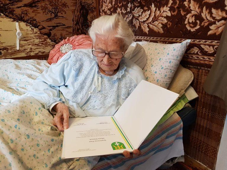 105 lat pani Marii