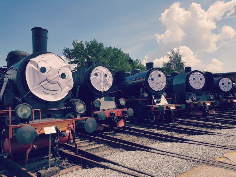 Tomek i przyjaciele w Muzeum Kolejnictwa