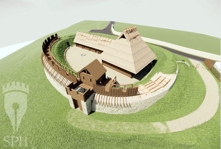 Chcą zrekonstruować średniowieczny gród w Dobromierzu