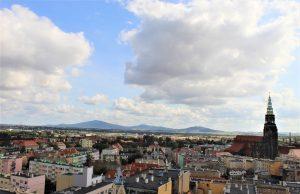 Świdnica, widok z katedrą. Fot. Leszek Krawiec