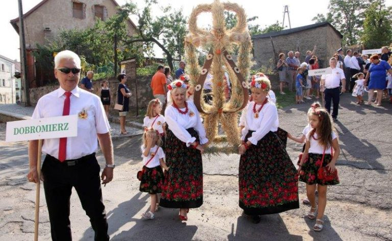 Rolnicy z gminy Dobromierz podziękowali za plony [FOTO]