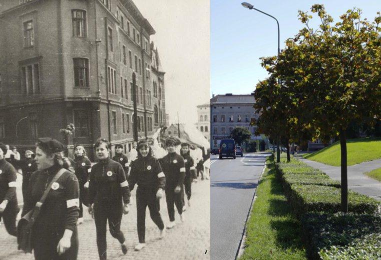 Świdnica wczoraj i dziś. Ul. 1 Maja