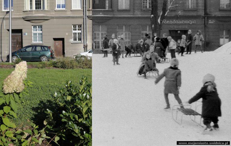 Świdnica wczoraj i dziś. Plac Drzymały