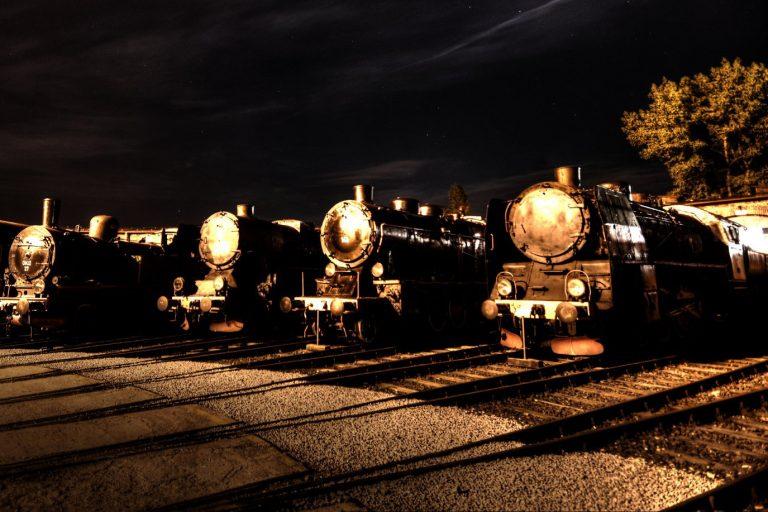 To będzie mroczna noc w Muzeum Kolejnictwa